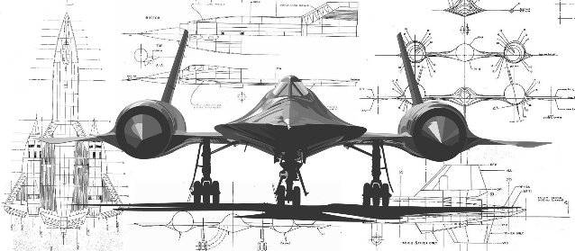 [DIAGRAM_1JK]  Schematic of the SR-71 | Airplane Schematics |  | SR-71 Blackbirds